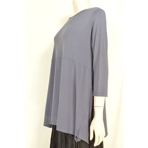 Comfy USA Tops - Comfy USA top SZ XS gray asymmetrical full flowing